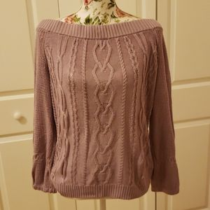 New York & Co. Off Shoulder Sweater